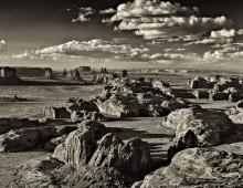 Monochrome Landscape….