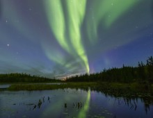 Night Lights…. Return to Yellowknife Canada